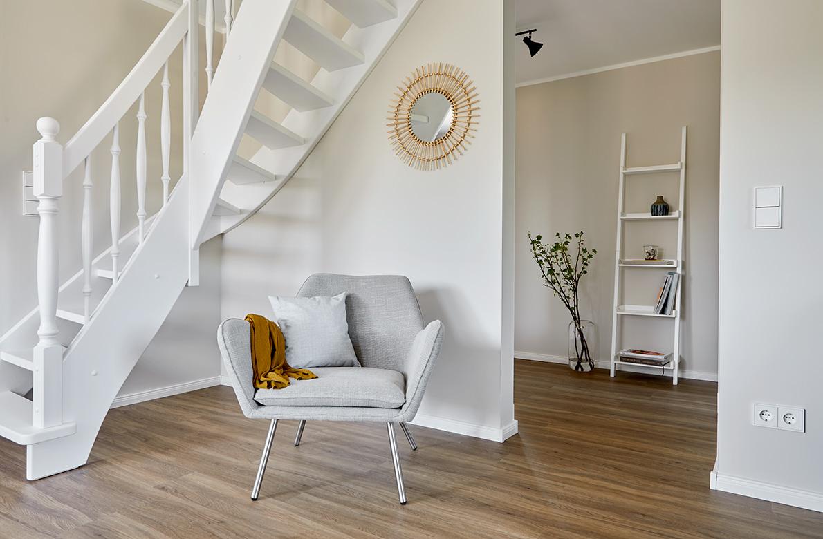 Einrichtung-Ferienwohnung-Treppe