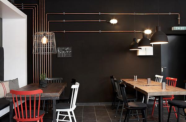 INTERIOR DESIGN Restaurant Burgerkultour